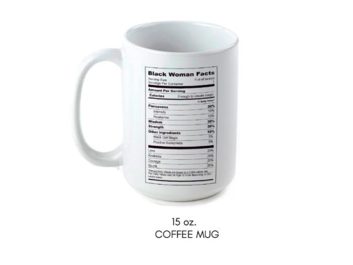 Black Woman Facts Mug