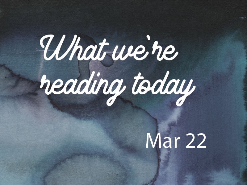 Recommended Reading Mar 22