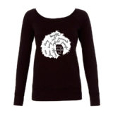 Black Lady Afro Shirt