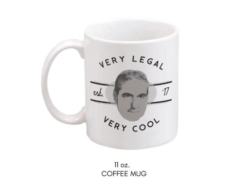 Very Legal Very Cool Mueller Mug