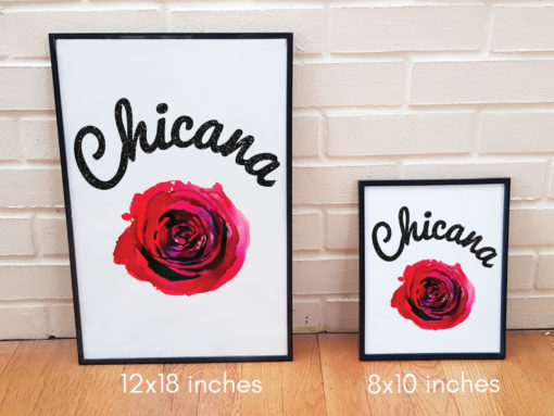 Chicana Poster