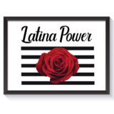 Latina Power Poster