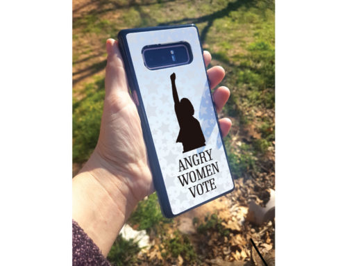 Angry Women Vote Phone Case