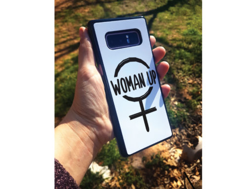 Woman Up Phone Case